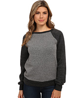 Michael Stars - Quilt Long Sleeve Boat Neck Sweatshirt