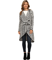 Michael Stars - Geo Jacquard Long Sleeve Cardigan
