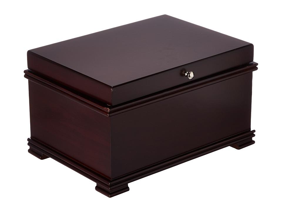 Mele Hollis Jewelry Box Mahogany Jewelry Boxes Small Furniture