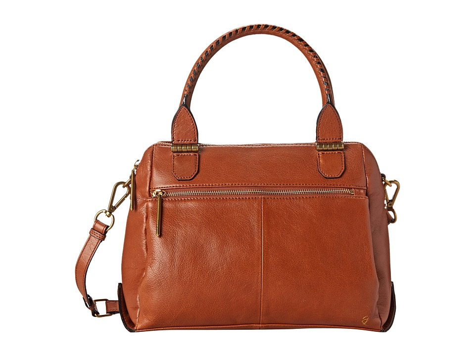 Elliott Lucca - Olvera Metro Satchel (Cognac) Satchel Handbags
