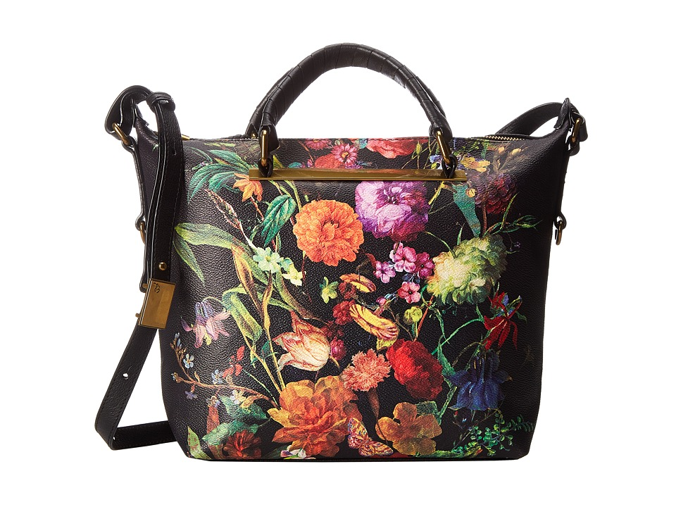 Elliott Lucca Artisan Brigitte Satchel Autumn Botanica Satchel Handbags