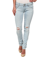 Hudson - Collin Skinny Distressed Jeans in Strata