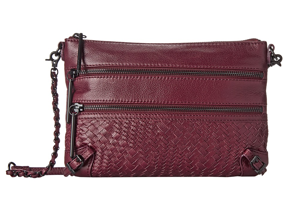 Elliott Lucca Bali 89 3 Zip Clutch Cabernet Devi Clutch Handbags