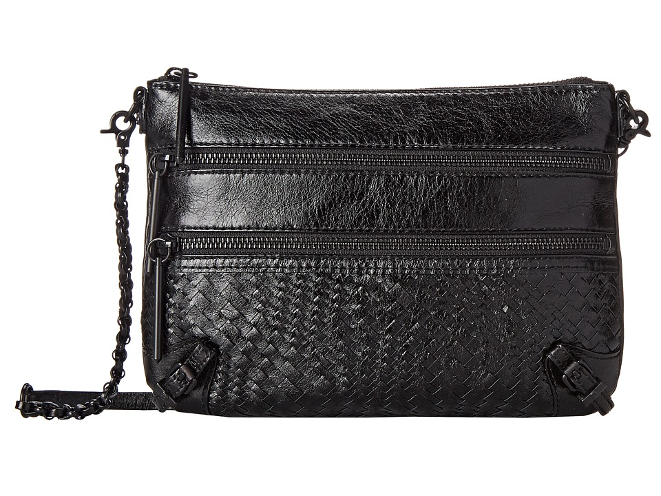 Elliott Lucca Bali 89 3 Zip Clutch Black Onyx Devi Clutch Handbags