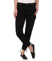 Hudson - Rowan Slouchy Skinny Cargo Pants in Black