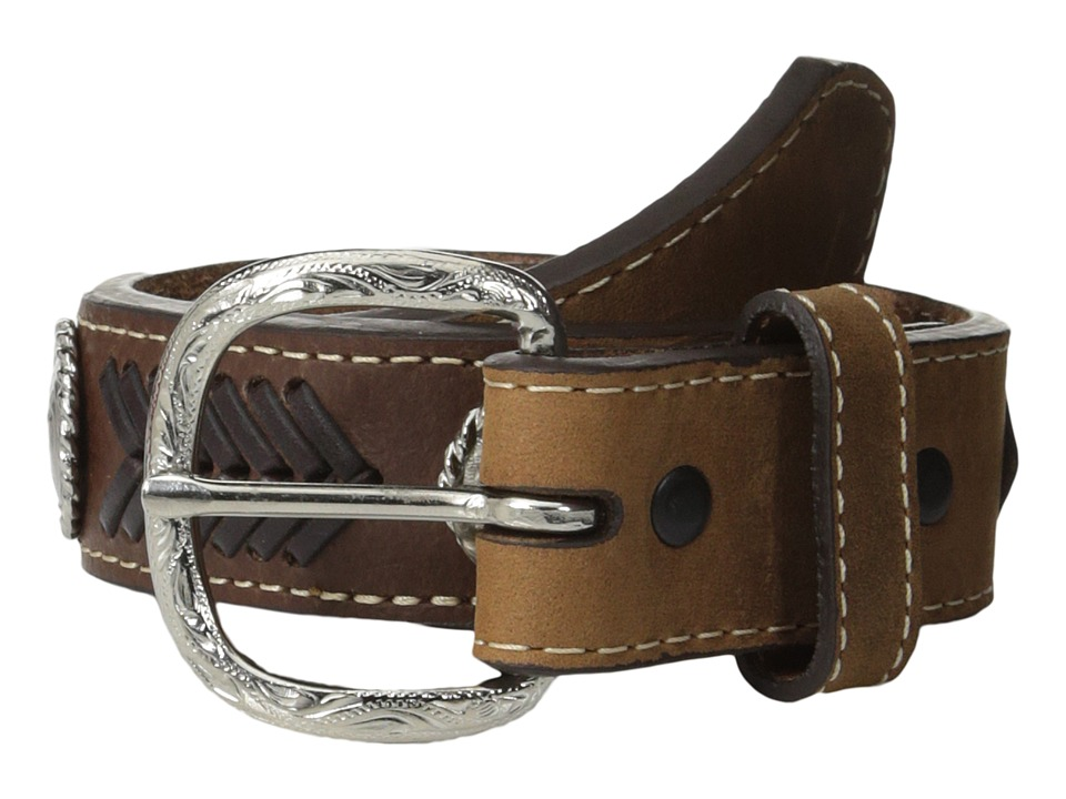 M&F Western - Nocona Ribbon Belt (Little Kids/Big Kids) (Brown) Men's Belts