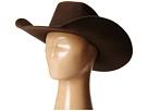 M&F Western Twister Wool Cowboy Hat w/ Flat Bow (Little Kids/Big Kids) (Chocolate)