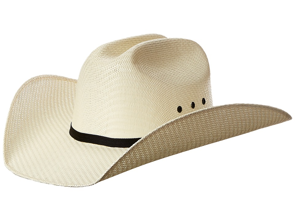 MampF Western Twister Cowboy Hat Little Kids/Big Kids Natural Cowboy Hats
