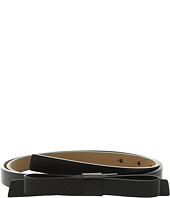 Kate Spade New York - Boarskin Panel Bow Belt