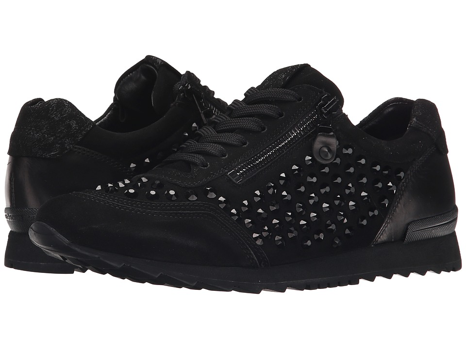Kennel amp Schmenger Crystal Stud Sneaker Schwarz Womens Shoes