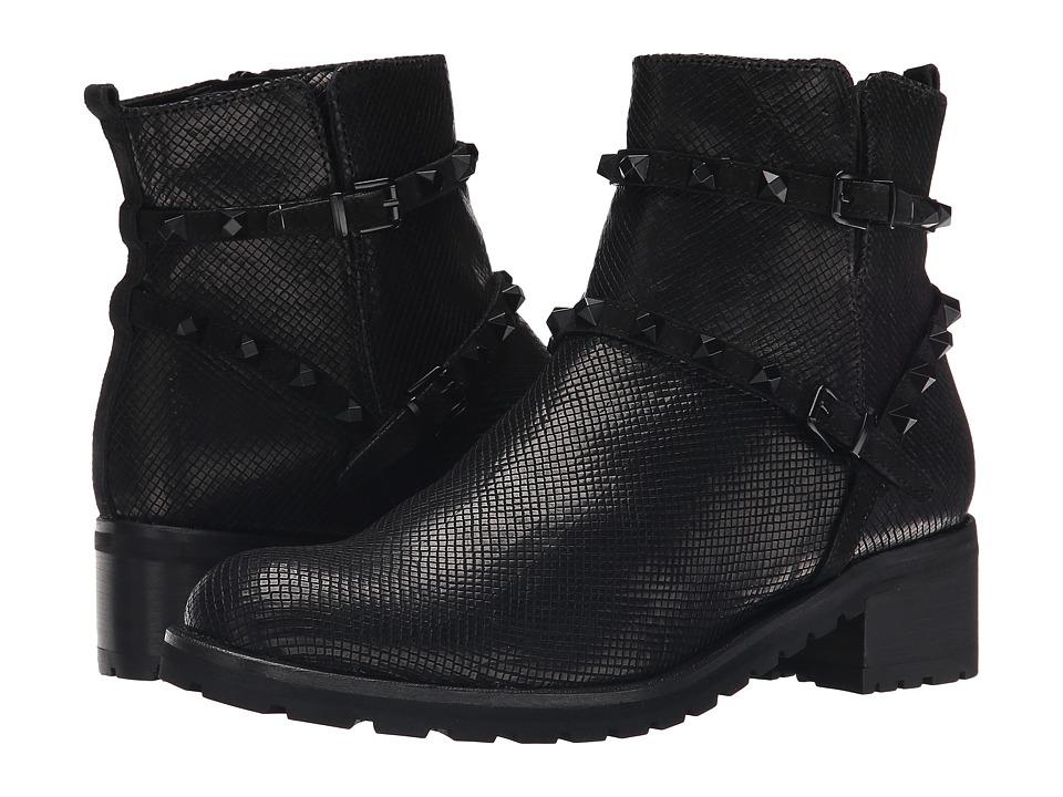Kennel amp Schmenger Noir Stud Combat Boot Schwarz/Black Womens Boots