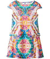 Versace Kids - Print Short Sleeve Dress (Toddler/Little Kids)