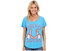 Gypsy SOULE - Vintage Forever Lucky Tee (Turquoise)
