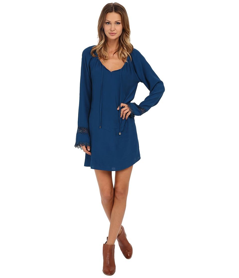 Lucy Love Leah Dress Peacock Blue Womens Dress