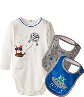 Little Marc Jacobs - Gift Set with Bodysuit and 2 Bibs (Infant)