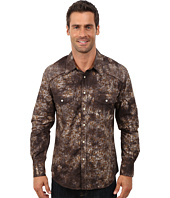 Rock and Roll Cowboy - Long Sleeve Snap Poplin Print B2S3022