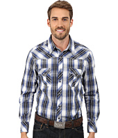 Rock and Roll Cowboy - Long Sleeve Snap Plaid B2S4433