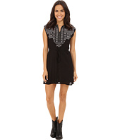 Rock and Roll Cowgirl - Sleeveless Dress D5-4520