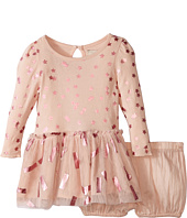 Stella McCartney Kids - Primrose Star Print Dress w/ Tulle Skirt (Infant)