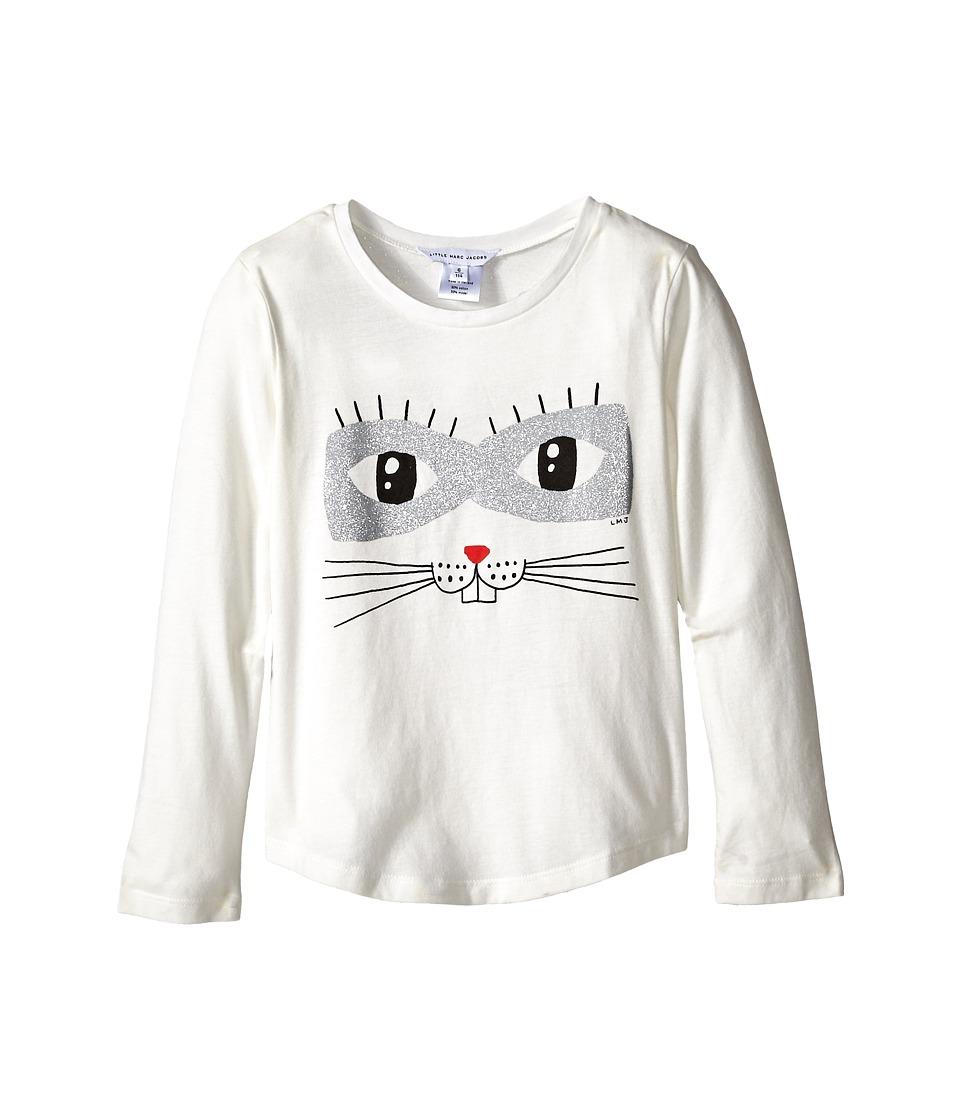 Little Marc Jacobs Animal Printed T Shirt Little Kids/Big Kids Off White Girls T Shirt