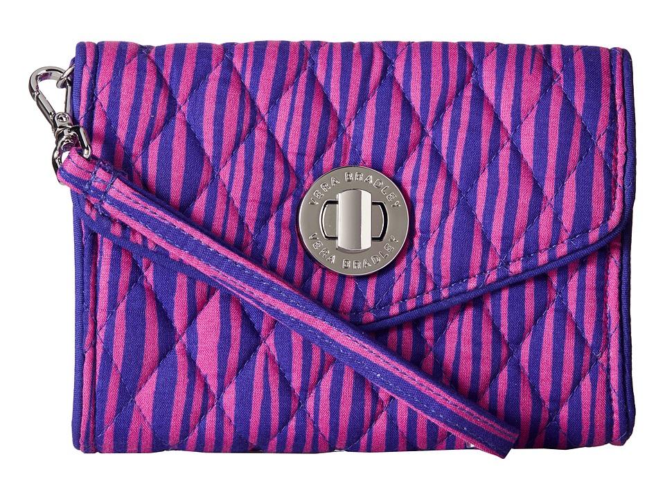 Vera Bradley Your Turn Smartphone Wristlet Impressionista Stripe Wristlet Handbags