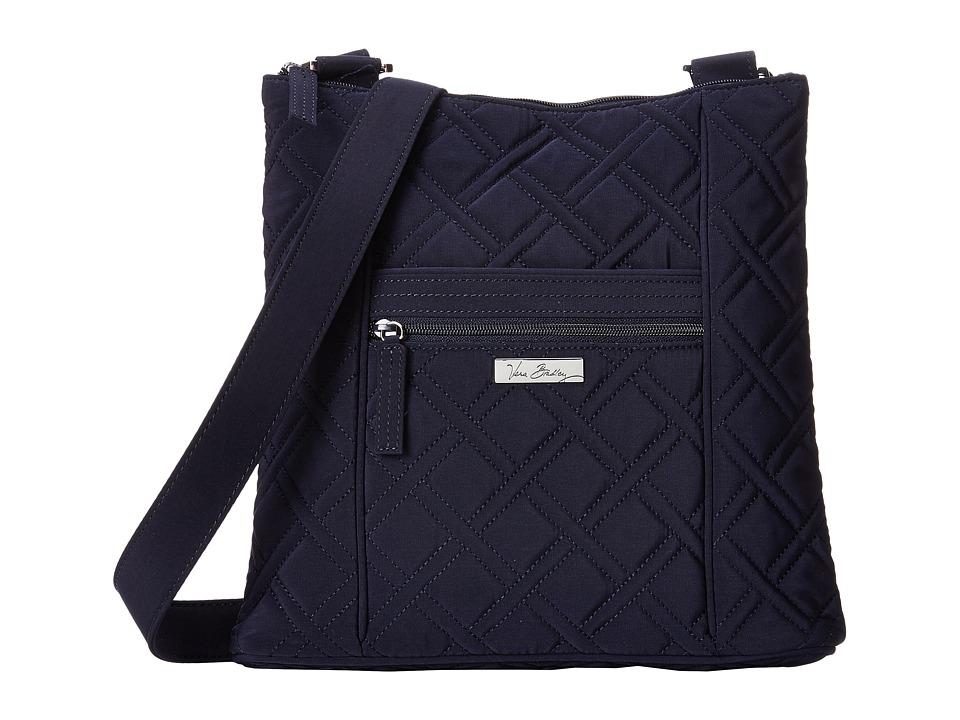 Vera Bradley Hipster (Classic Navy) Cross Body Handbags