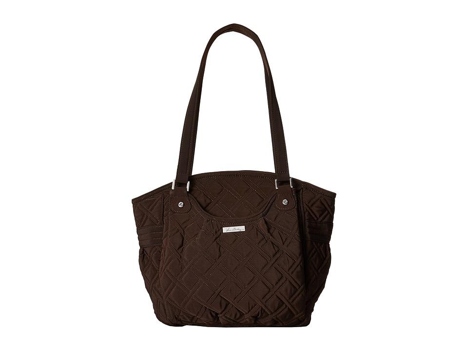 Vera Bradley - Glenna (Espresso) Tote Handbags