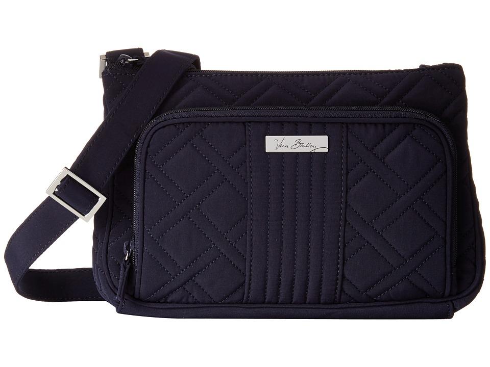 Vera Bradley Little Hipster Classic Navy Cross Body Handbags