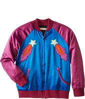 Stella McCartney Kids - Willow Track Jacket with Rocketship Embroidery (Little Kids/Big Kids)