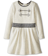 Little Marc Jacobs - Long Sleeve Dress with Lurex Elastic Waist (Toddler/Little Kids)