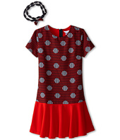 Little Marc Jacobs - Stripe and Dot Dress with Headband (Little Kids/Big Kids)
