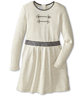 Little Marc Jacobs - Long Sleeve Dress with Lurex Elastic Waist (Little Kids/Big Kids)