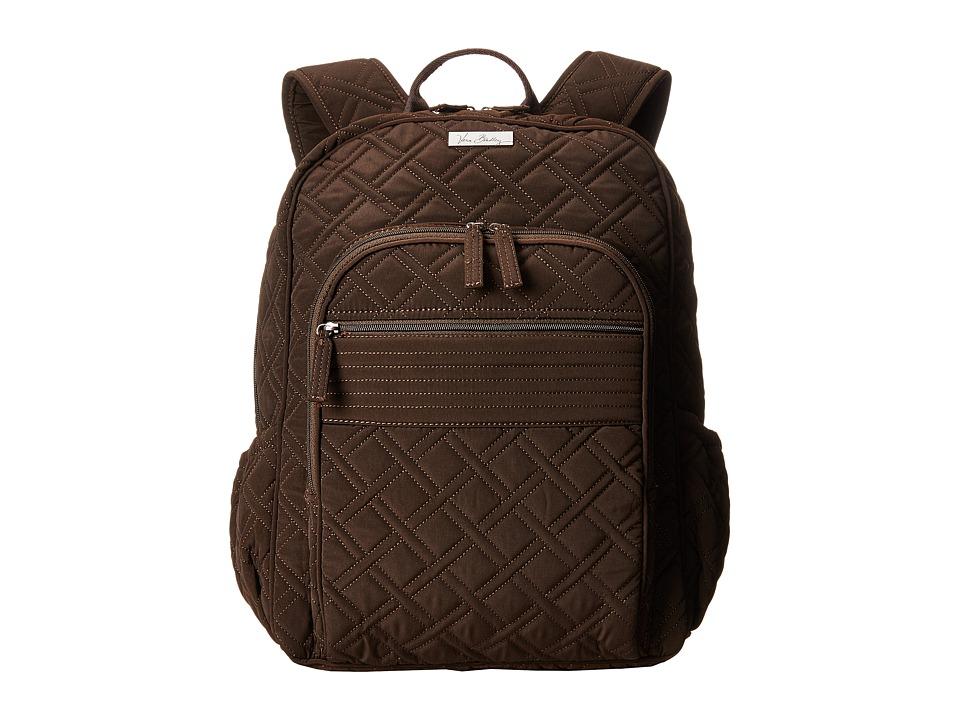 Vera Bradley Campus Backpack Espresso Backpack Bags