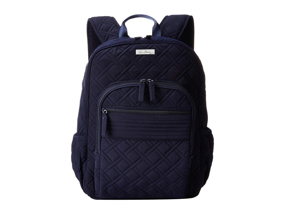 Vera Bradley - Campus Backpack (Classic Navy) Backpack Bags