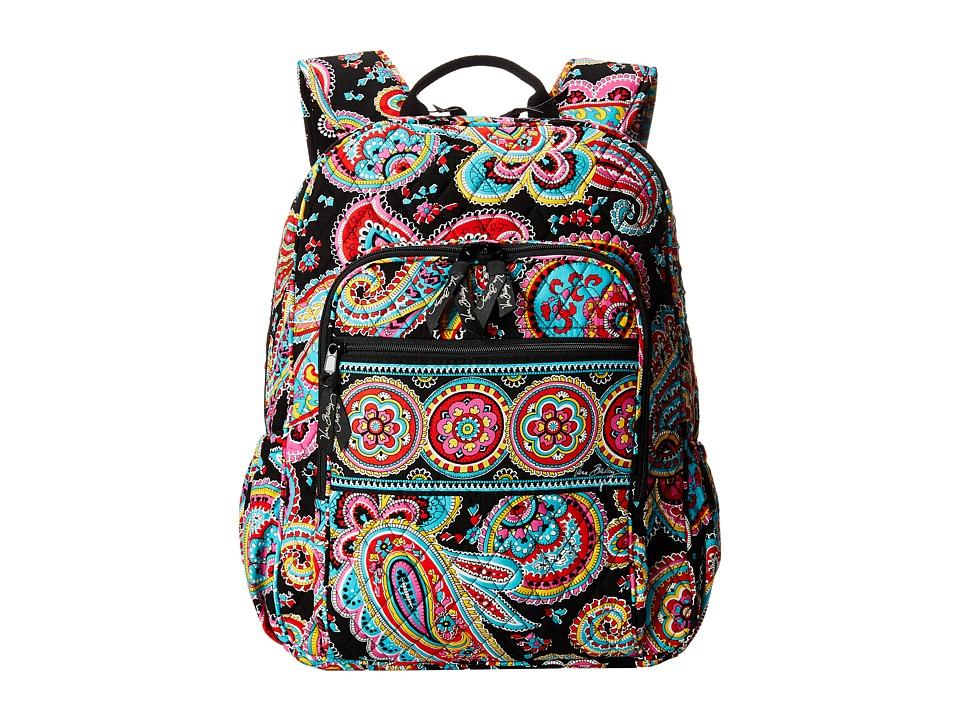 Vera Bradley - Campus Backpack (Parisian Paisley) Backpack Bags