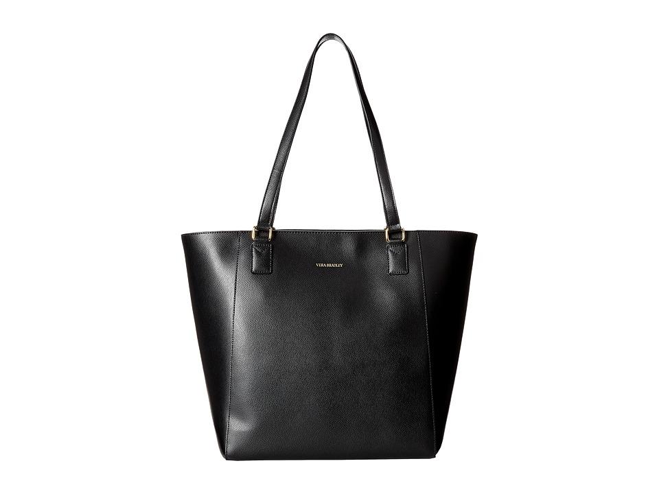 Vera Bradley Ella Tote Black 1 Tote Handbags