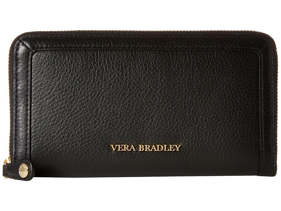 Vera Bradley Georgia Wallet Black Wallet Handbags