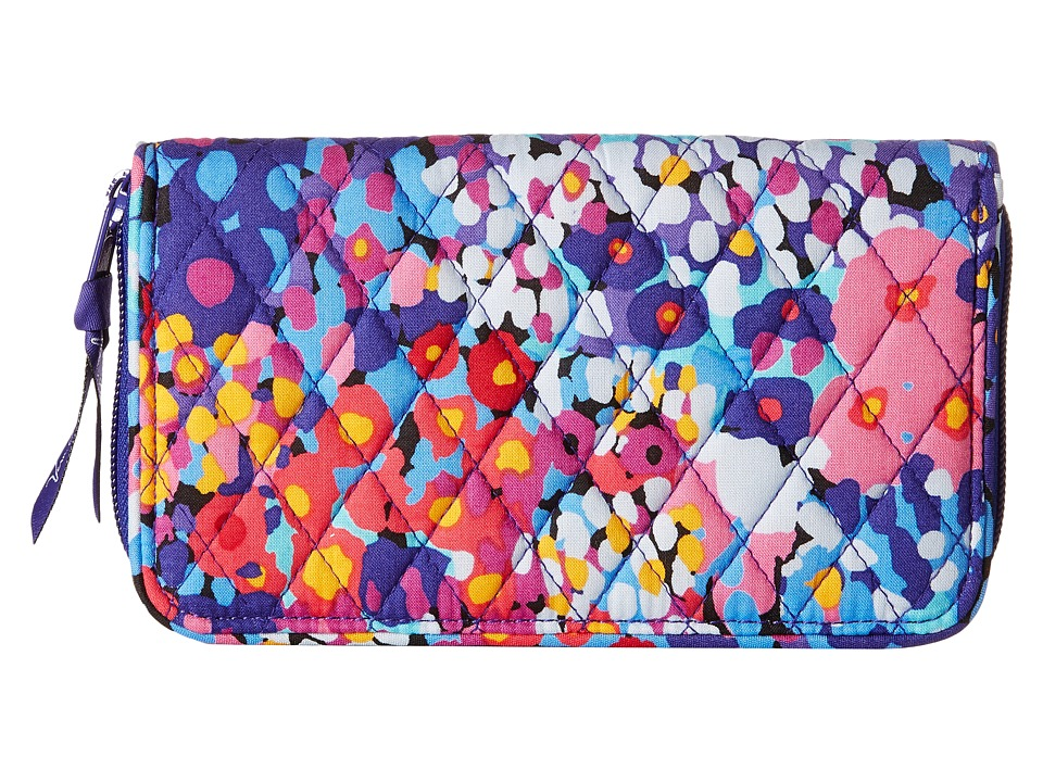 Vera Bradley Accordion Wallet Impressionista Wallet Handbags