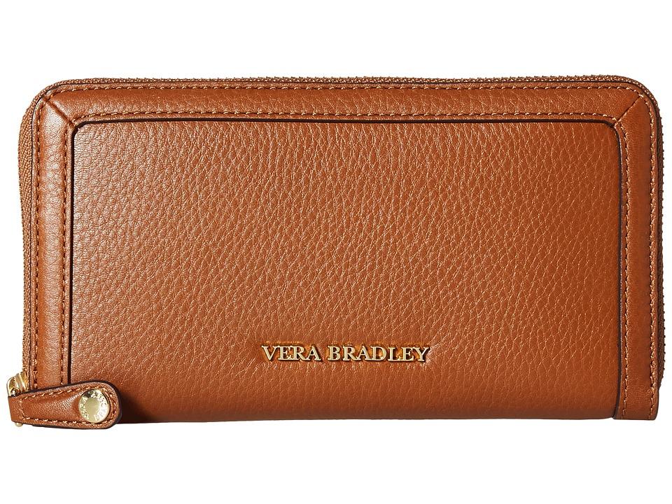 Vera Bradley Georgia Wallet Cognac Wallet Handbags