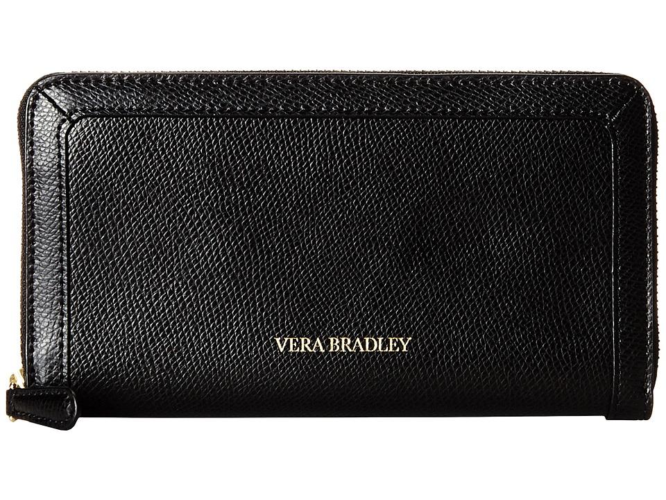 Vera Bradley Georgia Wallet Black 1 Wallet Handbags