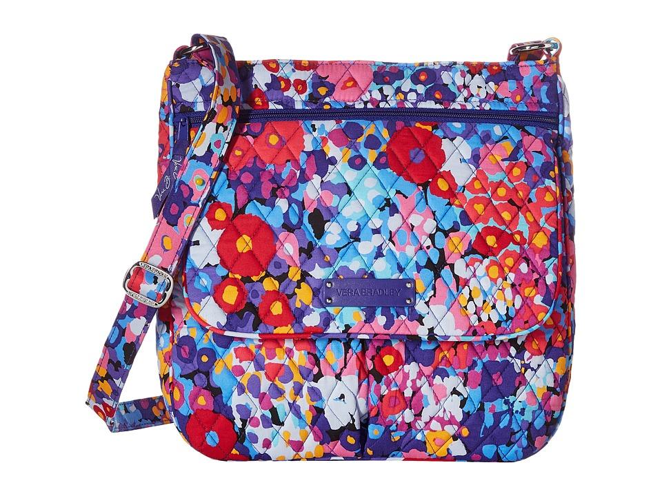 Vera Bradley Double Zip Mailbag Impressionista Cross Body Handbags