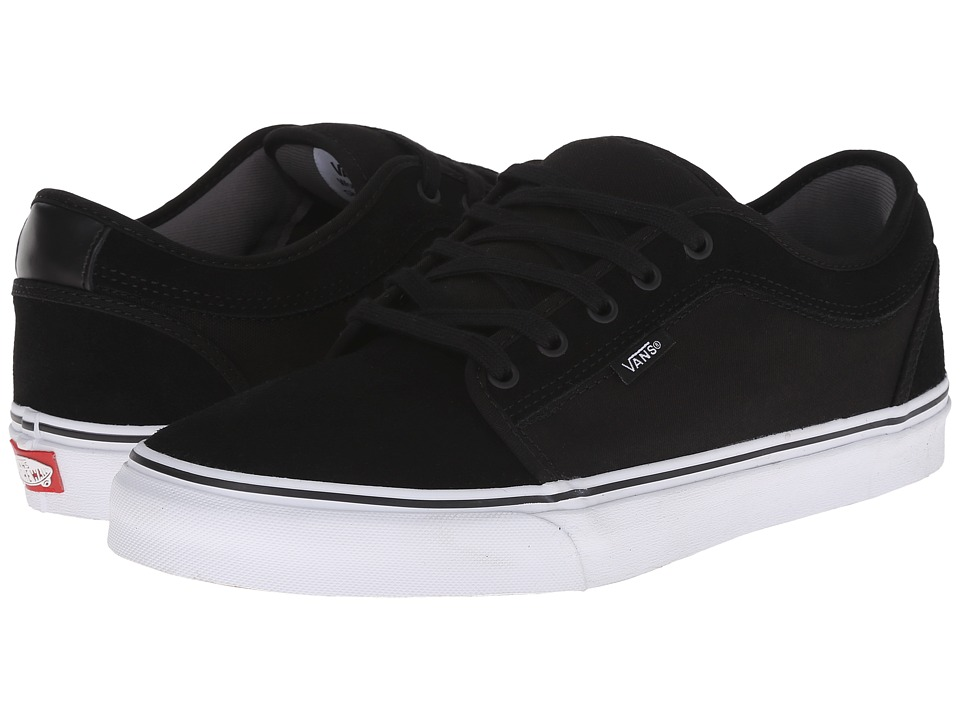 Vans Chukka Low (Black Suede/White) Men