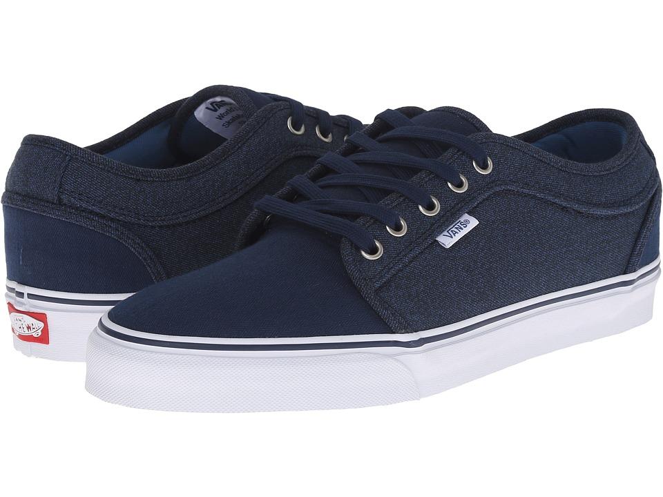 Vans - Chukka Low (Navy Material Mash) Mens Skate Shoes