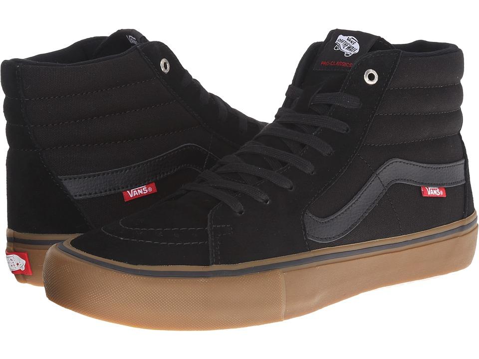Vans SK8-Hi Pro (Black/Gum) Men