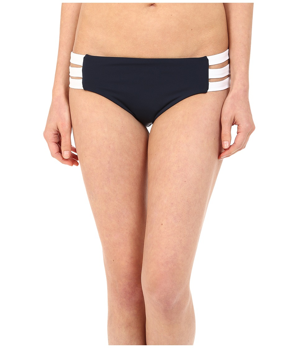 Seafolly Block Party Multi Strap Hipster (Indigo) Women
