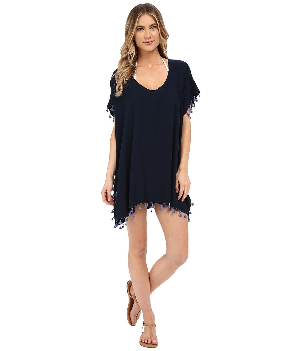 Seafolly Bling Beach Kaftan Cover Up Indigo Womens Swimwear