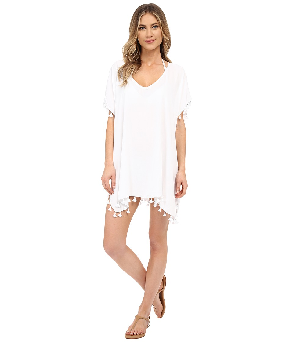 Seafolly Bling Beach Kaftan Cover Up White Womens Swimwear