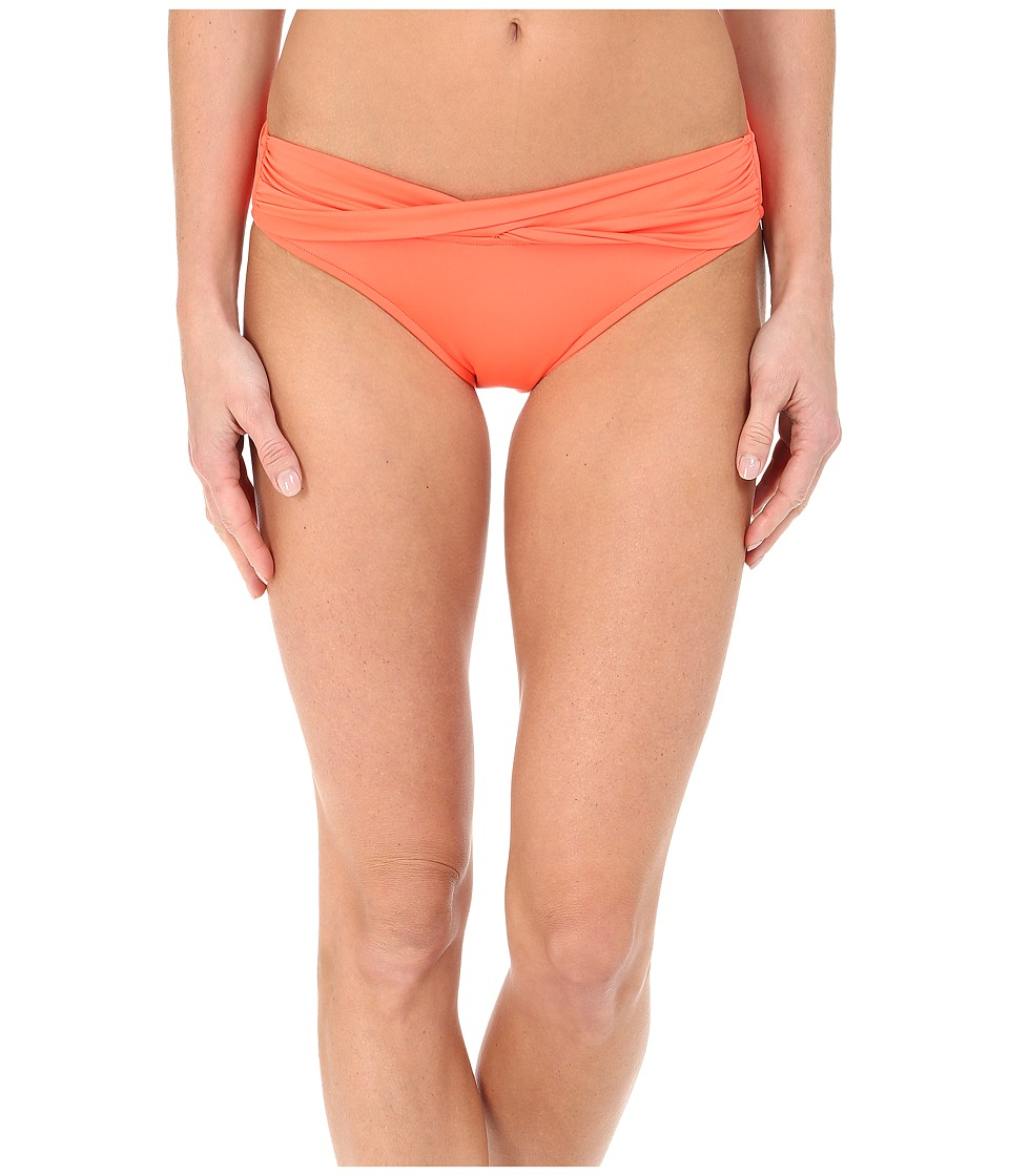 Seafolly Goddess Twist Band Mini Hipster Bottom Nectarine Womens Swimwear