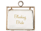 Betsey Johnson Blushing Bride Clutch In A Box (Gold)