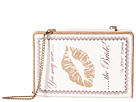 Betsey Johnson You May Now Kiss The Bride Book Shoulder Bag (Silver)